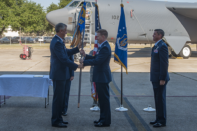 Change of Command at 93rd Bomb Squadron