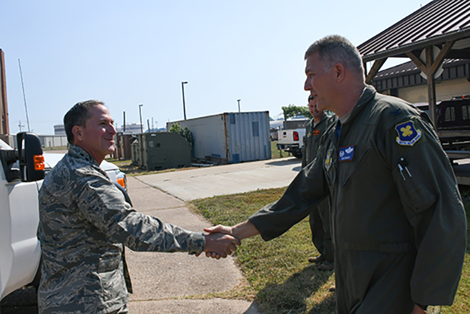AF Chief of Staff Pays Visit