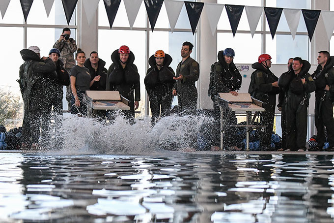 307th Bomb Wing makes a splash